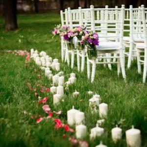 43630127 - beautiful wedding flower decorations
