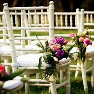 43632474 - beautiful wedding flower decorations