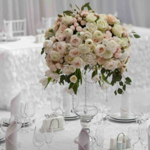 54359627 - table set for an event party or wedding reception